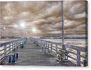 The Perfect Storm Canvas Print by Betsy Knapp