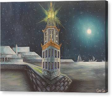 The Pharos Of Alexandria  Canvas Print