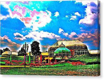 The Phipps Conservatory Canvas Print