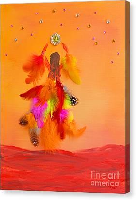 Acrylic Canvas Print - The Phoenix by Alys Caviness-Gober