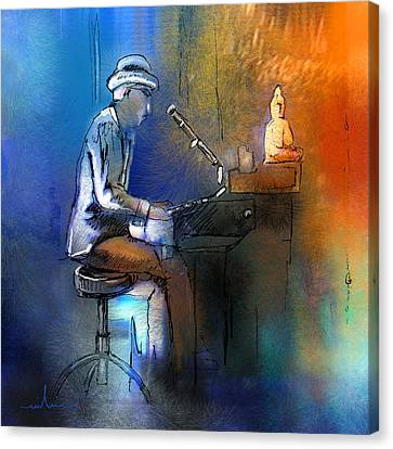 The Pianist 01 Canvas Print