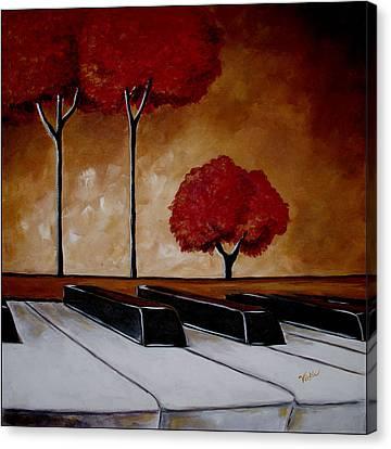 The Piano Man's Dream Canvas Print
