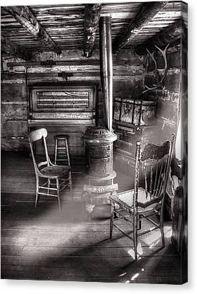 The Piano Room Canvas Print by Ken Smith