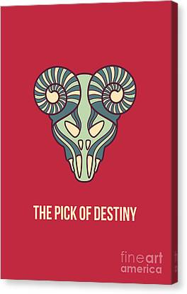 The Pick Of Destiny Canvas Print by Freshinkstain