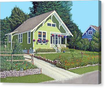 Our Neighbour's House Canvas Print by Gary Giacomelli