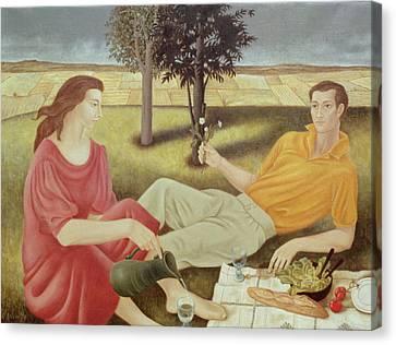 The Picnic Canvas Print by Patricia O'Brien