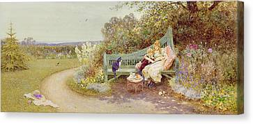 The Picture Book Canvas Print by Thomas James Lloyd