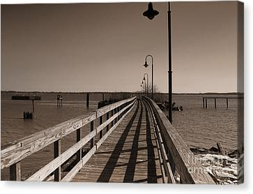 The Pier Canvas Print