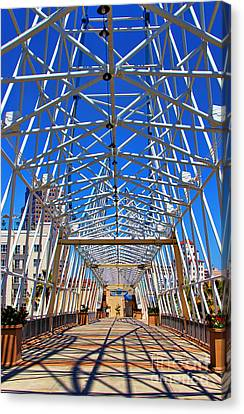 The Pike In Long Beach Canvas Print by Mariola Bitner