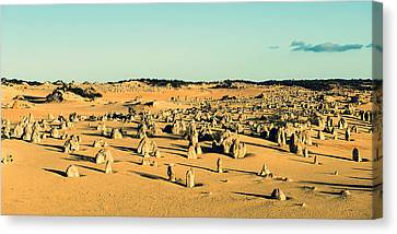 Canvas Print featuring the photograph The Pinnacles Australia by Yew Kwang