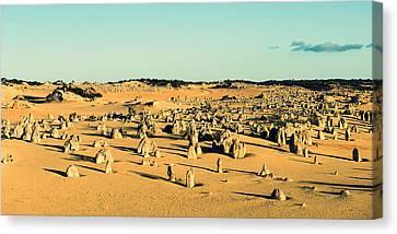 The Pinnacles Australia Canvas Print by Yew Kwang