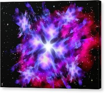 The Pinwheel Galaxy Canvas Print by Mario Carini