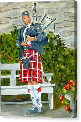 The Piper Canvas Print