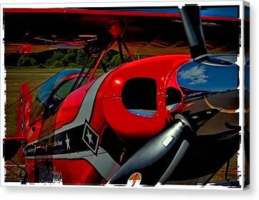 The Pitts S2-b Biplane Canvas Print