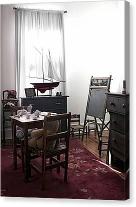 The Playroom Canvas Print by Chrystyne Novack