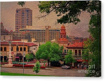The Plaza - Kansas City Missouri Canvas Print