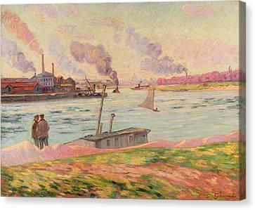 The Pointe D'ivry Canvas Print