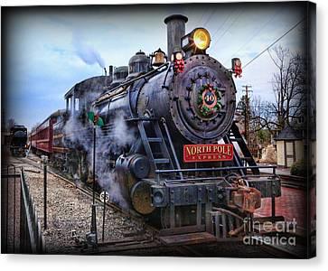 The Polar Express - Steam Locomotive Canvas Print