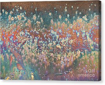 The Polar Lights Abstract Canvas Print