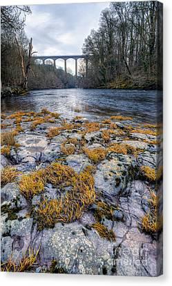 The Pontcysyllte Aqueduct Canvas Print by Adrian Evans