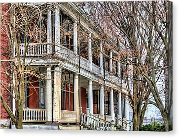 The Porch Canvas Print by JC Findley