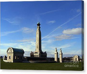 The Portsmouth Naval Memorial Southsea Canvas Print by Terri Waters