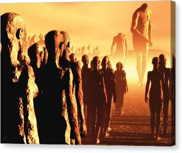 The Post Apocalyptic Gods Canvas Print