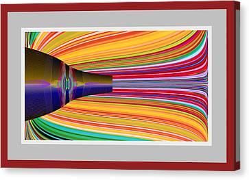 The Pour Canvas Print