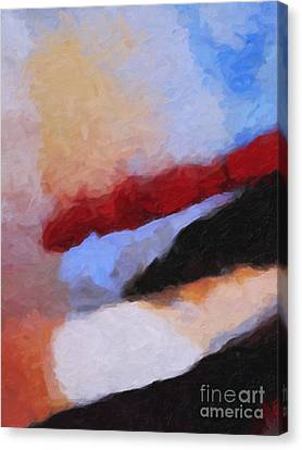The Power Of Color Canvas Print by Lutz Baar