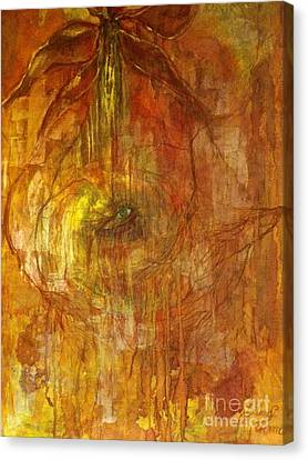 Canvas Print featuring the painting The Power Of Love by Delona Seserman