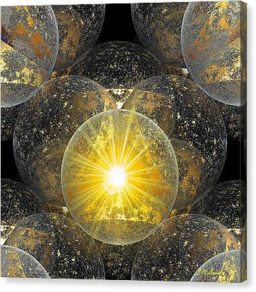 The Power Of One Canvas Print by Michael Durst