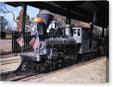 The Prairie Zephyr Train Canvas Print