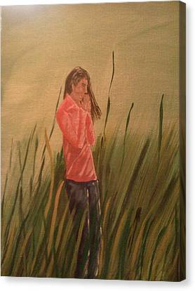 The Prayer Canvas Print by Renee McKnight