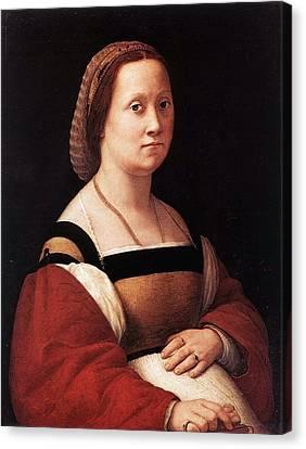 Palatina Canvas Print - The Pregnant Woman by Raffaello Sanzio