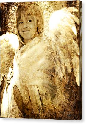 The Presence Of Angels Canvas Print