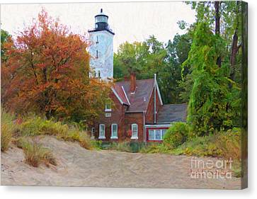 The Presque Isle Lighthouse Canvas Print