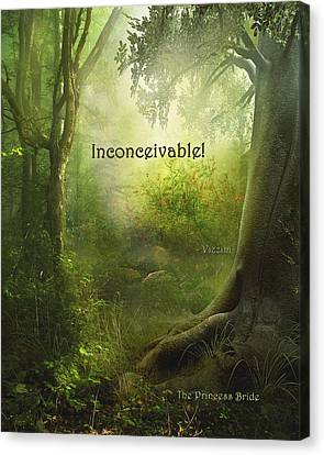 The Princess Bride - Inconceivable Canvas Print