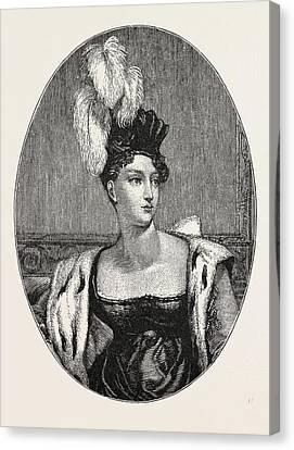 The Princess Charlotte Augusta Canvas Print