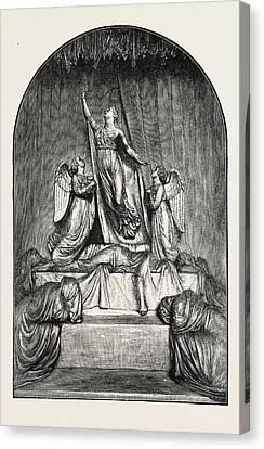 The Princess Charlotte Monument. The Princess Charlotte Canvas Print