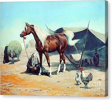 The Prize Canvas Print by Jeanne Newton Schoborg