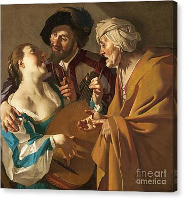 1622 Canvas Print - The Procuress by Pg Reproductions