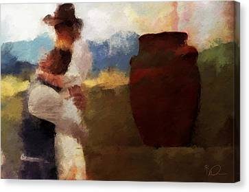 Prodigal Canvas Print - The Prodigal Son by David Derr