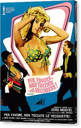 The Producers Aka Per Favore, Non Canvas Print by Everett
