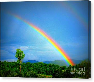 The Promise Canvas Print by Patti Whitten