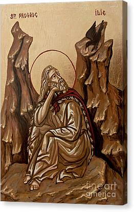 The Prophet Elijah Canvas Print