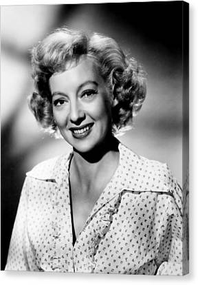 The Prowler, Evelyn Keyes, 1951 Canvas Print by Everett