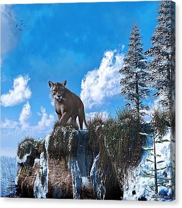 The Prowler Canvas Print by Ken Morris