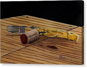 Virginia Wine Canvas Print - The Pull by Brien Cole