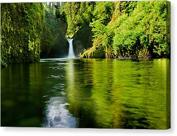 The Punchbowl Canvas Print by Tony Murray