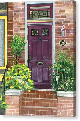The Purple Door Canvas Print